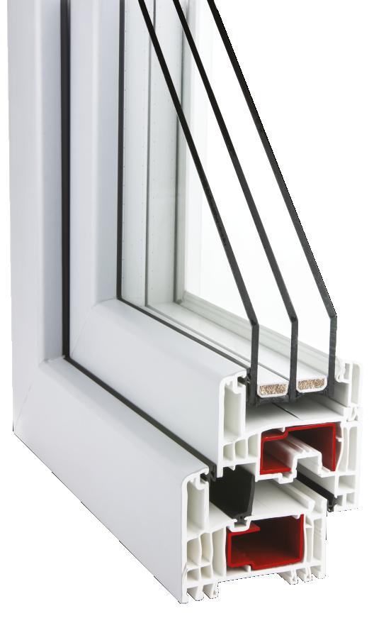 Okna Aldo Gealan S9000